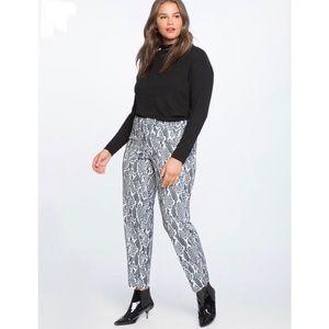 Eloquii Kady Snakeskin pants. NWT. Size 16